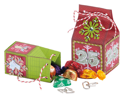 Free Printable Christmas Gift Box Templates.Gifts Too Small To Wrap Put Them In A Box
